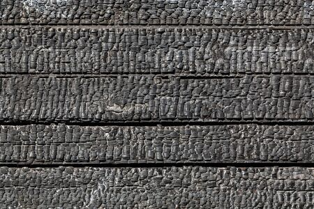 abstract fire: Background of burnt wood texture
