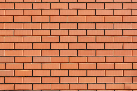 red wall: Wall of red bricks