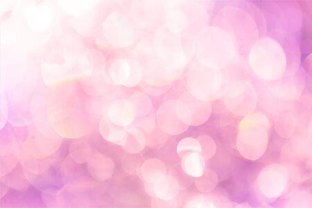Light pink bokeh abstract background Фото со стока