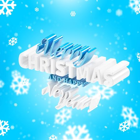 Congratulations on Christmas and New Year Фото со стока