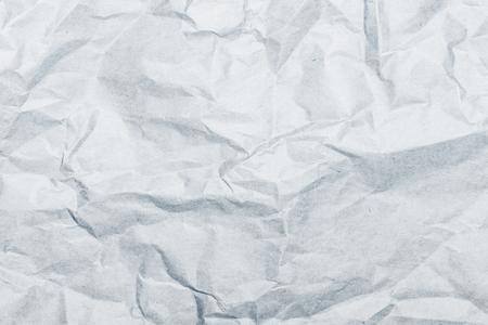 Gray background of crumpled kraft paper