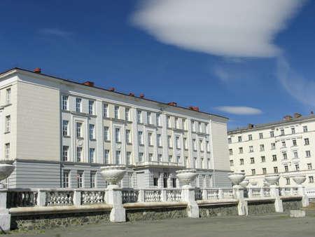 schoolhouse: Russia.  Norilsk. Schoolhouse.