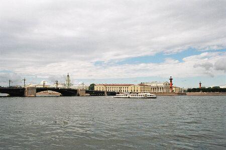 neva: St.-Petersburg.  River Neva Stock Photo