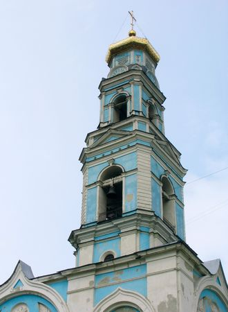 ascension: Cathedral of the ascension of the Christ. Russia.  Ekaterinburg.