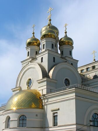 names: Cathedral in the names of all saints. Russia.  Ekaterinburg.