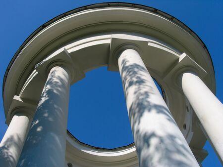 rotunda: Rotunda. Russia.  Ekaterinburg
