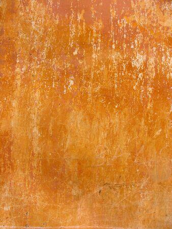 ochre: Old ochre Wall background Stock Photo