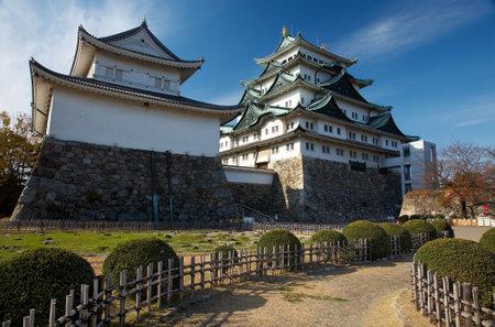 Summer view of Nagoya Castle under blue sky. Japan Stock Photo - 3268154