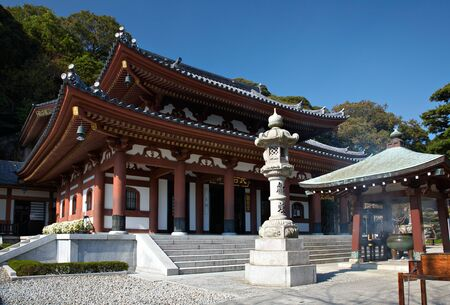 kamakura: Hasedera or Hase Temple in Kamakura, Japan