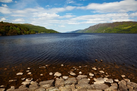 View at like Loch Ness, Highland, Scotland Stock Photo - 9510136