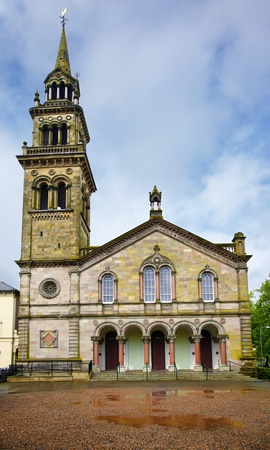 Elmwood Presbyterian Church. Queens Quarter, Belfast, Ulster, Northern Ireland photo