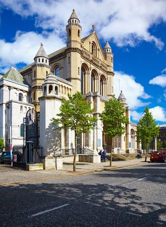 northern ireland: Belfast Cathedral , Church of st. Anne