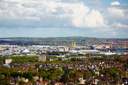 View at outskirts from Belfast Castle, Nothern Ireland Stock Photo - 10591068