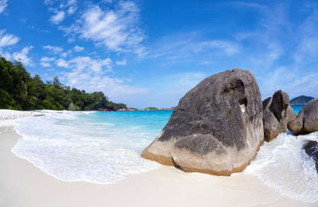 similan islands: Beach of Similan Islands, Koh Miang, National Park  Stock Photo