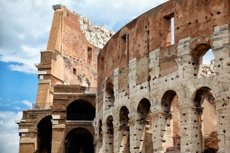 Colosseum the most well-known and remarkable landmark of Rome and Italy Stock Photo - 15909306
