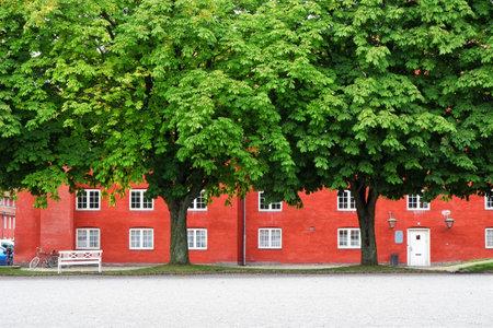 frederik: The storehouse in Kastellet, Copenhagen, Denmark. Kastellet (The Citadel Frederik