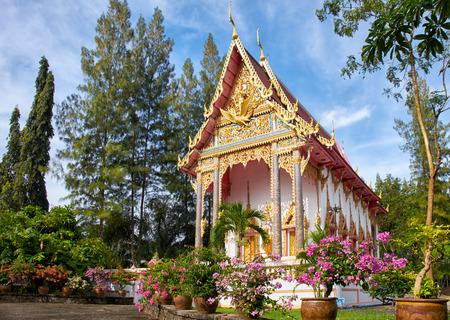 Wat Sri Sunthon temple on Phuket in Thailand photo