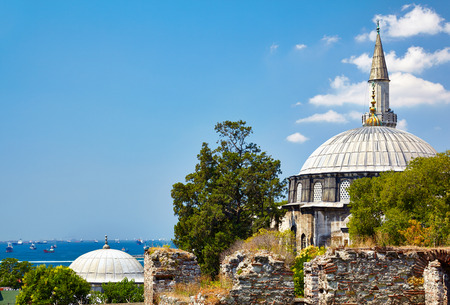 bacchus: Little Hagia Sophia, formerly the Church of the Saints Sergius and Bacchus, Istanbul Stock Photo