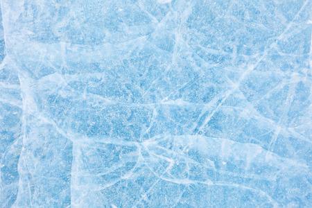 シベリアのバイカル湖の氷のテクスチャ