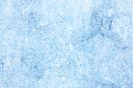 Texture of ice of Baikal lake in Siberia