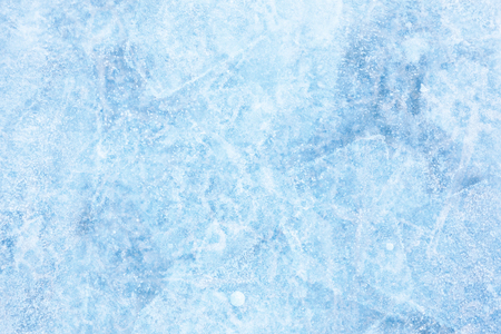 Struttura di ghiaccio del lago Baikal, in Siberia