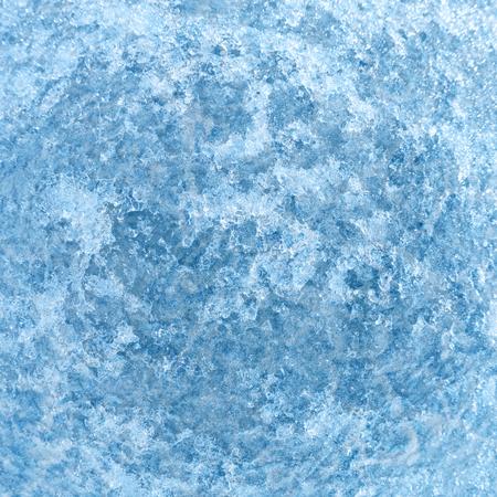 baical: Wide-angle shot of texture ice on Baikal lake in Siberia Stock Photo