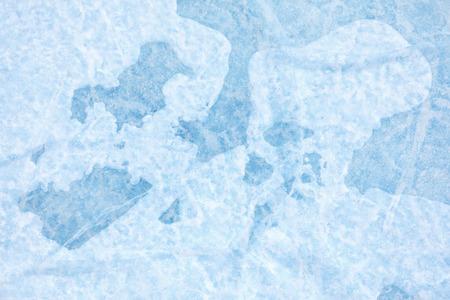 baical: Texture of ice of Baikal lake in Siberia