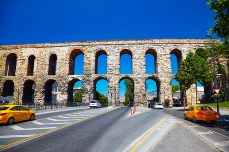 ancient near east: The Valens Aqueduct is a Roman aqueduct which was the major water-providing system of Constantinopole, modern Istanbul.