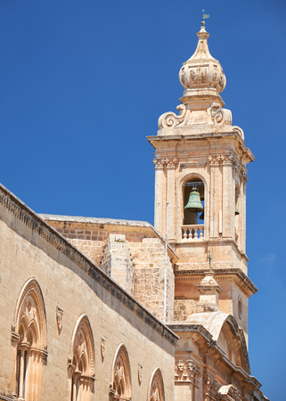priory: The Bell Tower of Carmelite Priory, also known as Our Lady of Mount Carmel in the medieval city of Mdina. Malta
