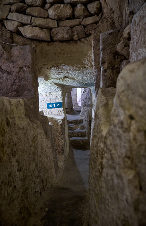 ii: RABAT, MALTA - JULY 29, 2015:  St. Paul�s Catacombs - an extensive system of underground galleries and tombs -  the most prominent features of Malta Editorial