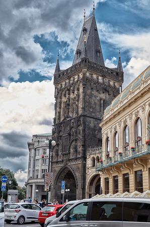 Czech Republic. Prague. Powder Tower. June 13, 2016