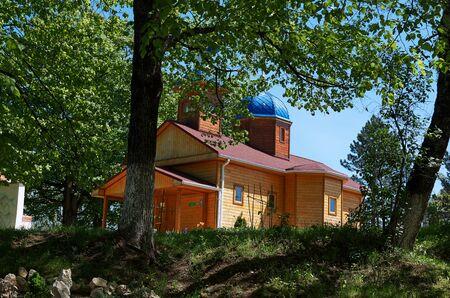 kuban: Russia. Krasnodar region. Adygea. St. Michaels Athonite Monastery. May 3, 2016