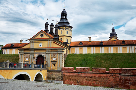 Belarus. Nesvizh. Nesvizh castle of the Radziwill family. May 22, 2017