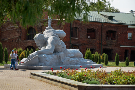 Belarus. Brest. Brest Fortress. Monument of the Second World War. May 23, 2017