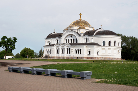 Belarus. Brest. Brest Fortress. St. Nicholas Cathedral in the Brest Fortress. May 23, 2017 Editorial
