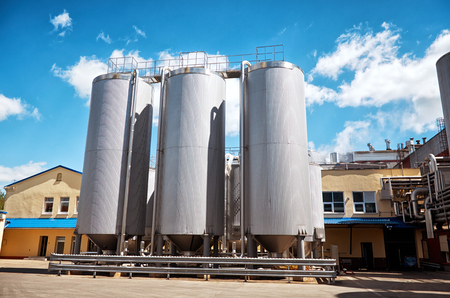 Belarus. Lida. Plant for the production of beer in the city of Lida. May 25, 2017
