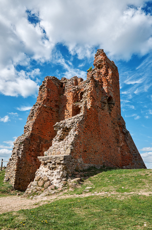 Belarus.Novogrudok. Ruins of Novogrudok Castle. May 25, 2017