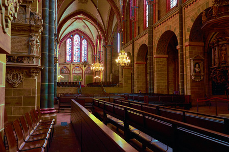 Deutschland. Bremen. Der Dom St. Peter in Bremen. 14. Februar 2018