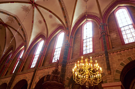 Germany. Bremen. St. Peter's Cathedral in Bremen. February 14, 2018