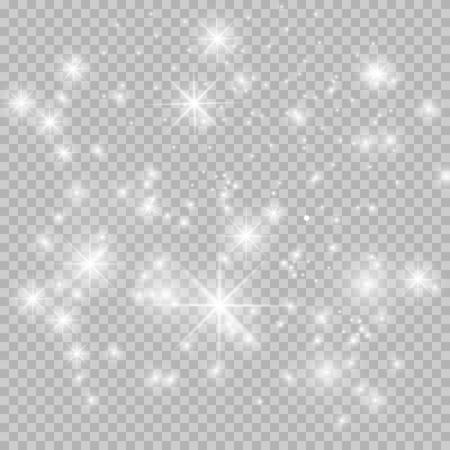 flash dust. Vector illustration.