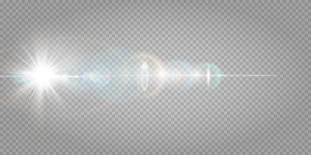 Vector blur in motion glow glare.