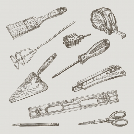 trowel:  illustration