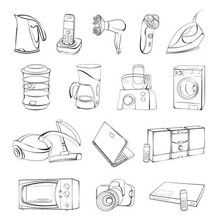 household goods: Technics Illustration