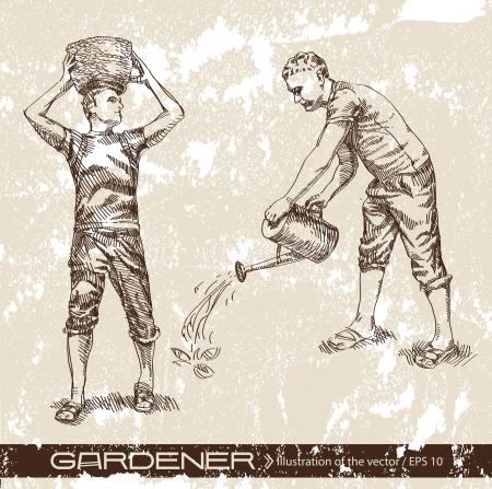 gardener Stock Vector - 14740862