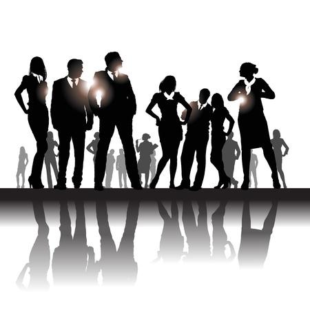 ondernemers Vector Illustratie