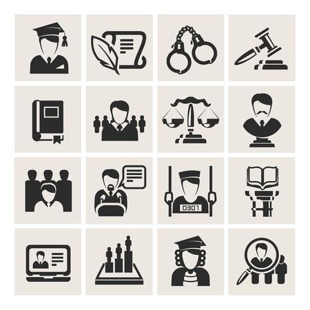 zeugnis: Anwalt Illustration