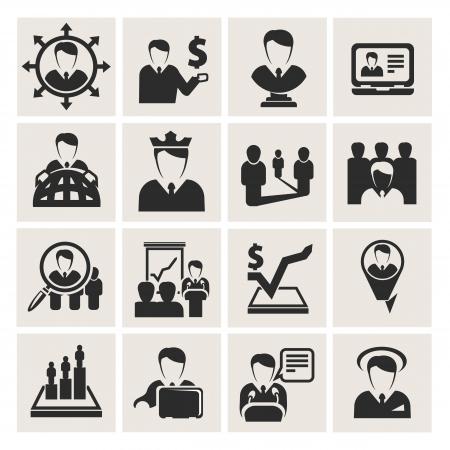 corporate hierarchy: affari