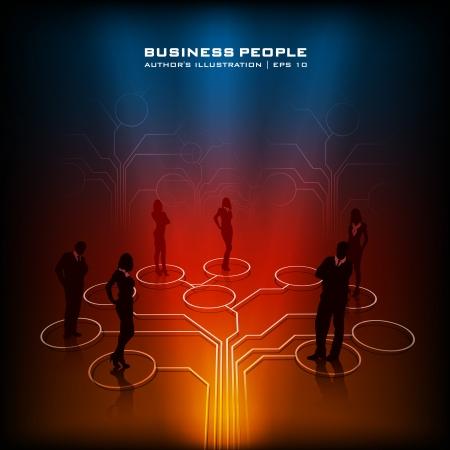 corporate social: affari