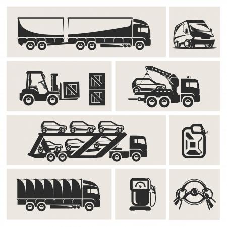 diesel: transportation Illustration
