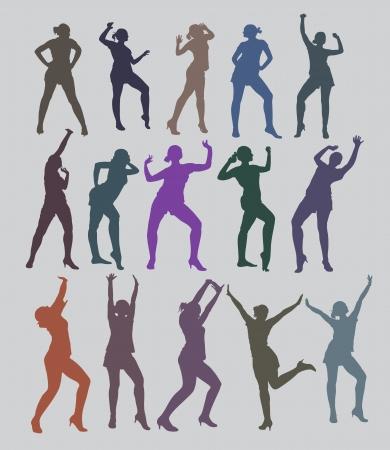 danza moderna: Danza Vectores